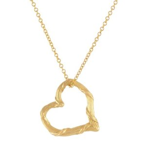 New Heritage Mini Floating Heart Pendant Necklace @ Peter Thomas Roth Jewelry