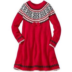 Girls Snö Happy Sweater Dress | Sale Girls Dresses