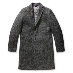 [epigram] herringbone wool coat