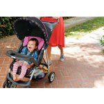 Graco LiteRider Click Connect Travel System with SnugRide Click Connect 22 Infant Car Seat