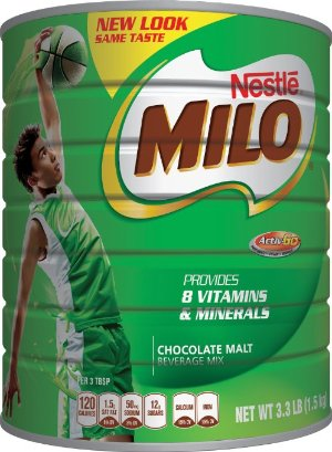 NESTLE MILO Chocolate Malt Beverage Mix 3.3 Pound Can
