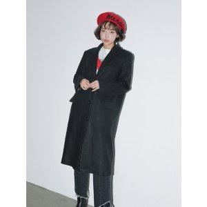 Basic Single-Breasted Coat