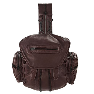 MINI MARTI IN WASHED BEET WITH MATTE BLACK | BACKPACK | Alexander Wang Official Site