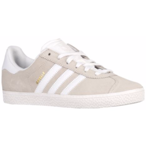 adidas Originals Gazelle 2 - Boys' Grade School - Casual - Shoes - Off White/Off White/White