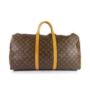 brown LOUIS VUITTON Travel bag - Sacs de voyage - Vestiaire Collective