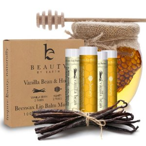 Lip Balm Vanilla Bean & Honey (4 pack)