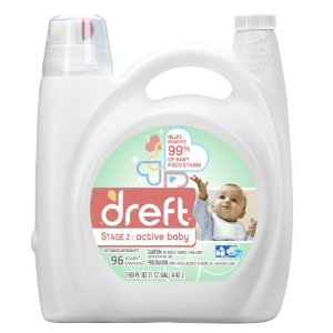 Dreft Laundry Detergent, Stage 2: Active Baby, 96 Loads | Jet.com