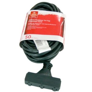 $3.95 50 ft. 16/3 Tri-Tap Landscape Extension Cord