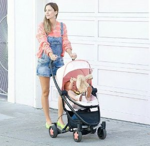 $199.99Quinny Zapp Xtra Stroller with Folding Seat, Pink Precious