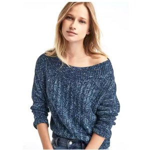 Cozy dolman sleeve sweater