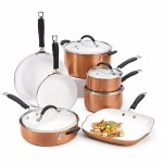 Bella 11-pc. Ceramic Cookware Set @ Bon-Ton
