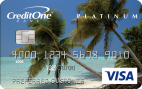 1% cash back on eligible purchasesCredit One Bank® Cash Back Credit Card