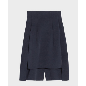 darted step hem skirt | DKNY.com