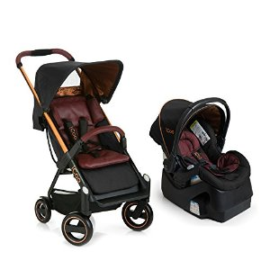 iCoo Acrobat Plus iGuard35 Infant Car Seat, Copper Black