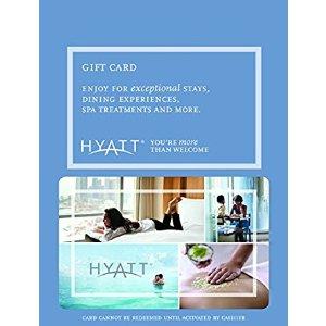 Hyatt $50 Gift Card