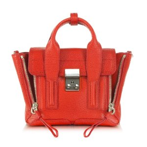 3.1 Phillip Lim Pashli Mini Satchel Vermillion