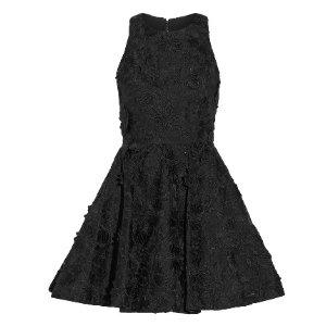 Alice + Olivia Tevin guipure lace mini dress