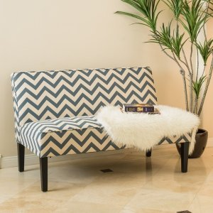 Dejon Chevron Fabric Loveseat by Christopher Knight Home - Reviews, Deals & Prices - 18378045