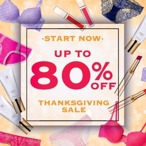 Thanksgiving Sale! Lingerie Skincare & Beauty Products + Free shipping @ Eve By Eve's Dealmoon Exclusive