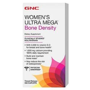 GNC Women's Ultra Mega Bone Density