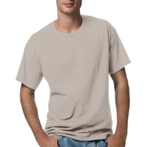As Low as $2.02 Hanes Men's Short Sleeve EcoSmart T-Shirt (Various Colors)