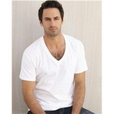 Hanes Men's V-Neck T-Shirts (Pack of 6)