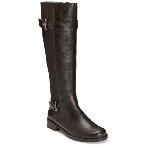 Ride Out Two Tone Tall Riding Boot | Women's SALE Boots & Booties | Aerosoles