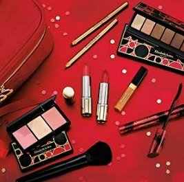 NEW. 35 Piece Holiday Beauty Upgrade (Worth over $400), Just $49.50With any $35 purchase @ Elizabeth Arden