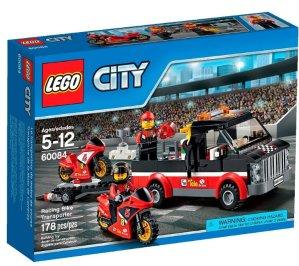 LEGO® City Great Vehicles Racing Bike Transporter 60084