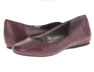 Steve Madden Anniie Wine Leather Shoes