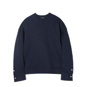 MAINBOOTH Oversized Cuffs Sweatshirt(navy)
