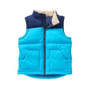 Colorblock Puffer Vest at Crazy 8