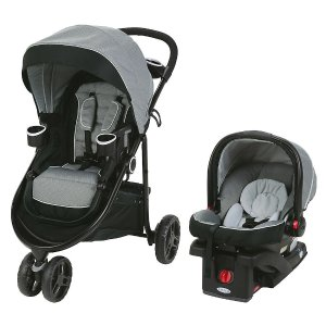 Graco Modes 3 Lite LX Click Connect Stroller Travel System - Watney - Graco - Babies