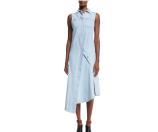 Acne Studios Sleeveless Denim Sheath Dress, Light Vintage