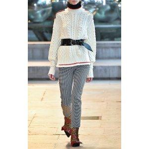 Edison Short Aran Knit Jumper by Isabel Marant | Moda Operandi