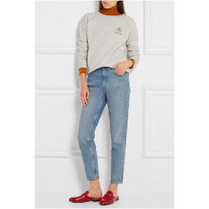 ÉTOILE ISABEL MARANT Billy printed cotton-blend sweatshirt