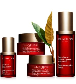 Free 2-pc Gift Set+Up to $20 Off with $75 Clarins Purchase @ Belk