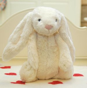 $22.50 Jellycat Bashful Cream Bunny - Medium