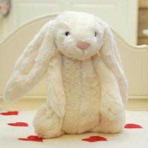 $22.50 Jellycat Bashful Cream Bunny - Medium