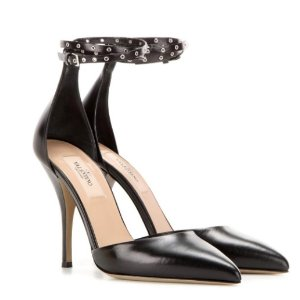 VALENTINO Love Latch Mary Jane leather pumps