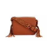 Rebecca Minkoff Wendy Small Leather Crossbody Bag, Almond