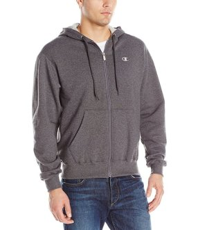 Lowest price!  $9.99 Champion Men's Full-zip Eco Fleece Hoodie Jacket