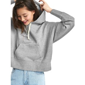 The archive re-issue crop hoodie | Gap