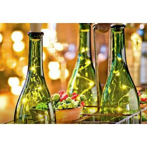 LED Cork Wine Bottle Lights - 3 Pack Deal
