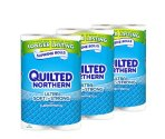 #1 Best seller! $15.24 Quilted Northern Ultra Soft & Strong 24 Supreme (90+ Regular) Rolls TOILET PAPER