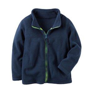 Baby Boy Zip-Up Heavyweight Fleece Jacket   Carters.com