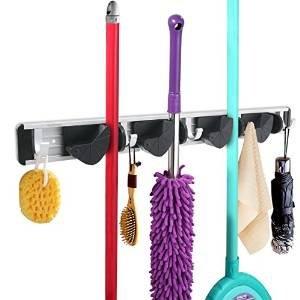 $9.99 WINOMO Broom Mop Holder Organizer Hooks