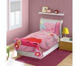 Peppa Pig 4-Piece Toddler Bedding Set - Walmart.com