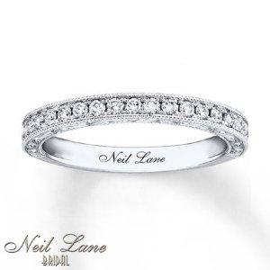 Kay - Neil Lane Bridal Wedding Band 1/3 ct tw Diamonds 14K White Gold