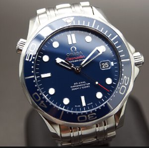 OMEGA Seamaster Automatic Blue Dial Men's Watch  21230412003001